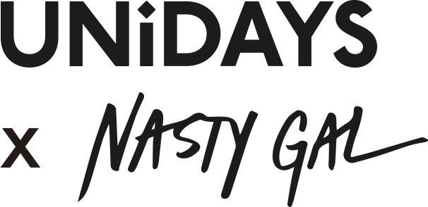 UNiDAYS x Nasty Gal logo